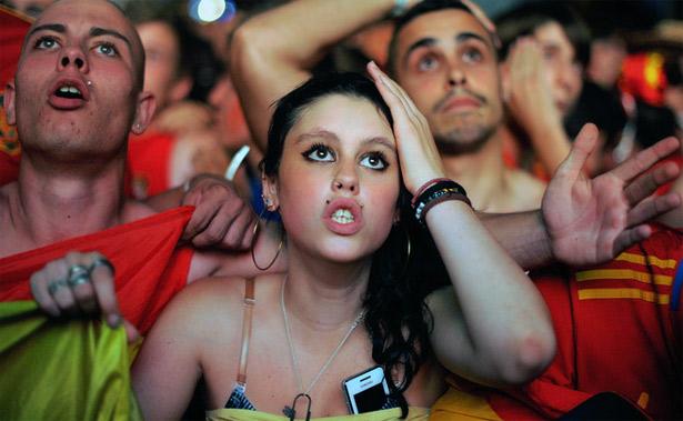 Финал Евро-2012 в Киеве смотрели 11 тыс. испанцев и 5 тыс. итальянцев